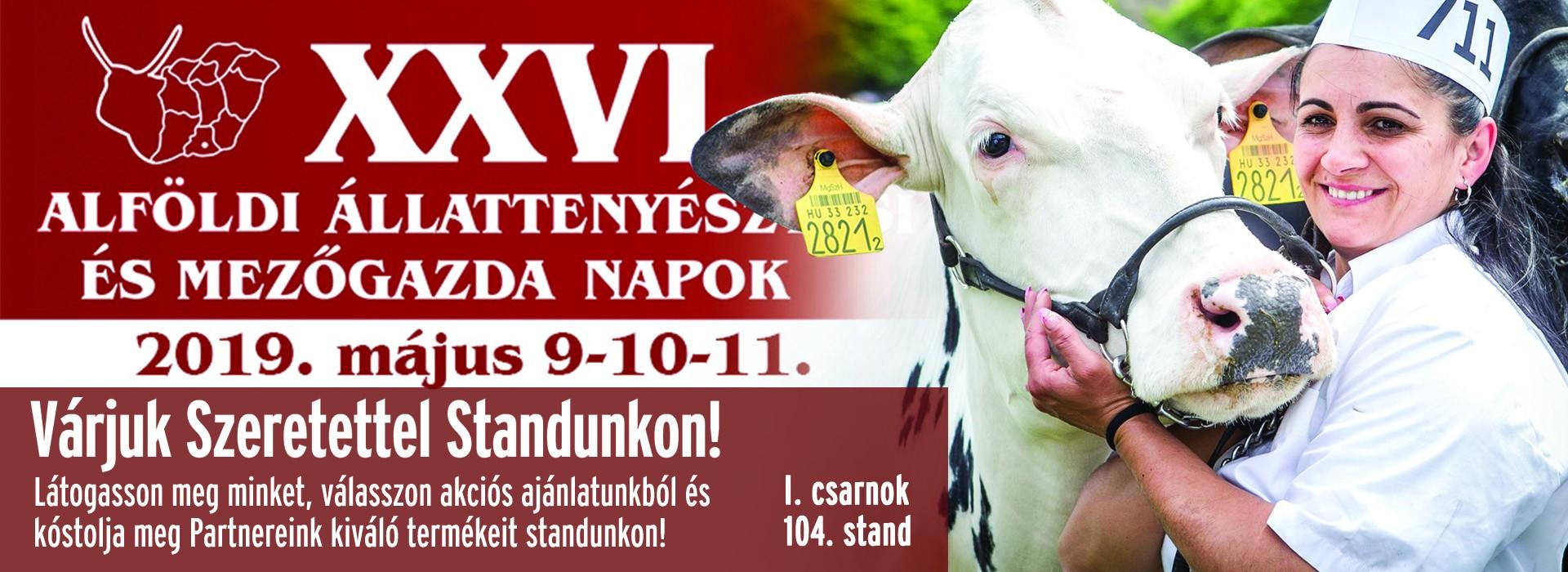XXVI. Állattenyésztési és Mezőgazda Napok - Hódmezővásárhely